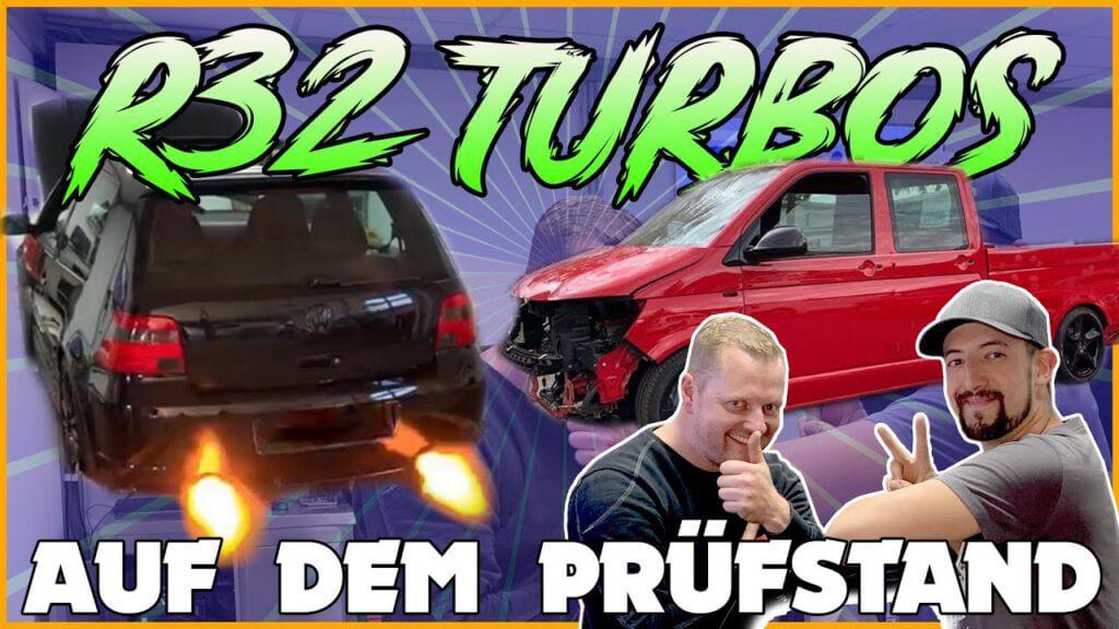 R32-Turbo Transporter Projekt bei BETH Rennsporttechnik