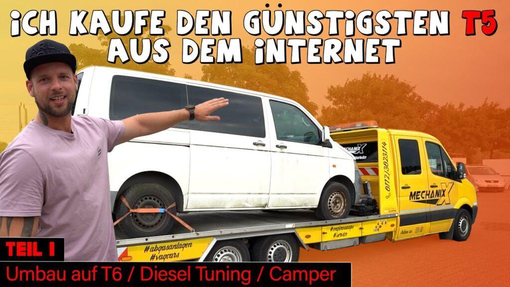 VW Bus T5 Projekt Teil 1
