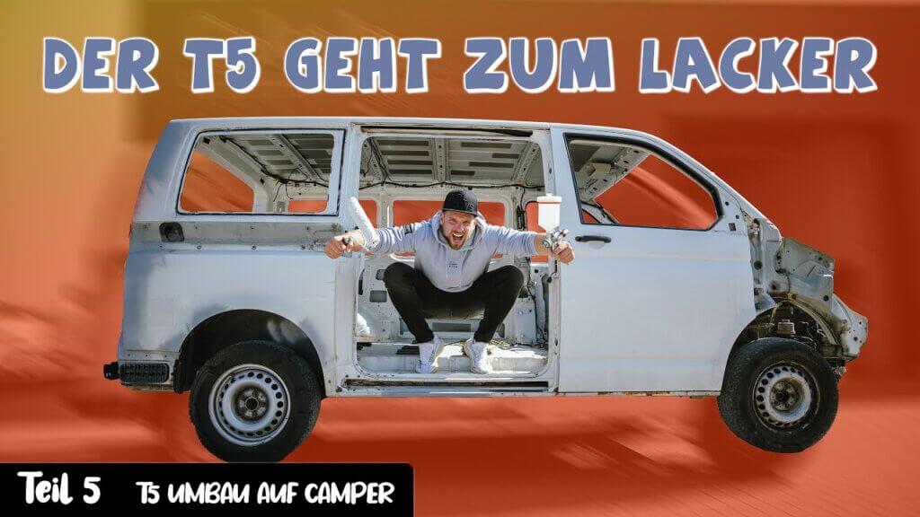 Jetzt kommt Farbe ins Spiel – VW Bus T5 #5 – René Bàuche
